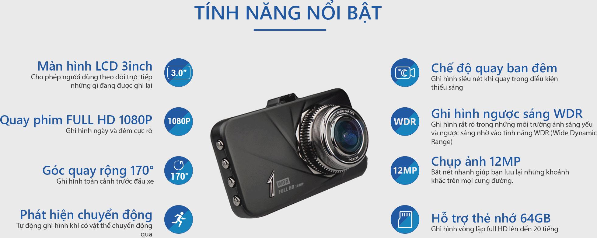 camera hành trình d168