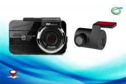 Camera hành trình HP F890G ghi hình 2 mắt