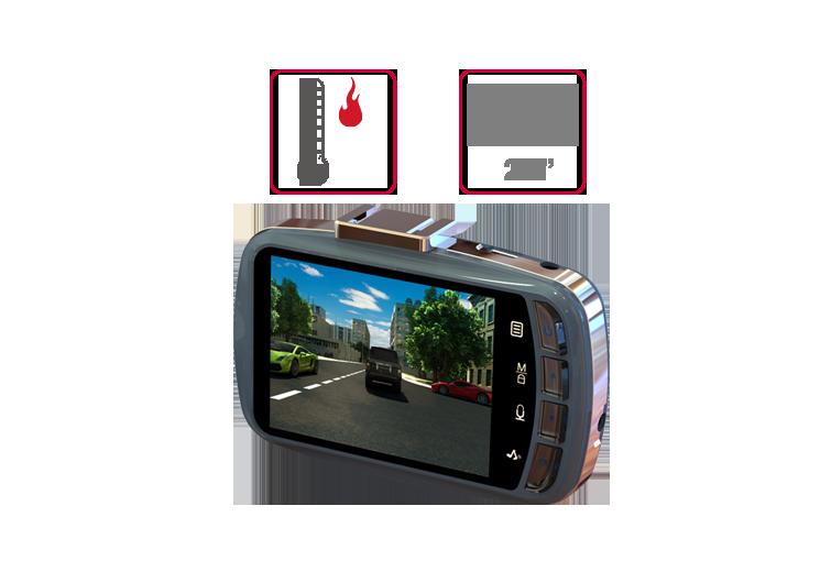 Camera hành trình x9 được thiết kế nhỏ gọn