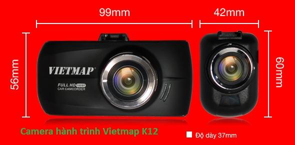 Camera hành trình viepmap K12