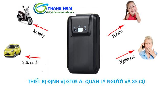 Công dụng của thiết bị định vị cầm tay GT03A. Một sản phẩm bạn nên tham khảo khi có nhu cầu lắp định vị xe máy tại Đan Phượng