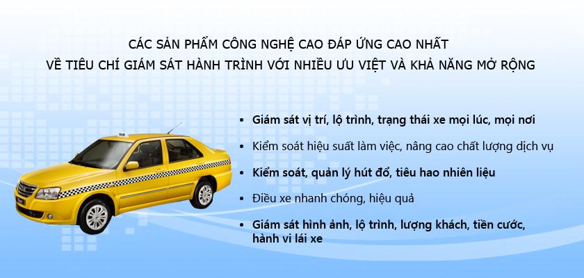 Thiết bị giám sát hành trình xe taxi