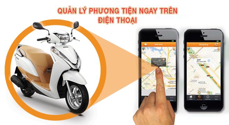 Thành Nam chuyên Lắp thiết bị định vị xe máy tại Bắc Ninh