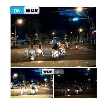 Camera hành trình vietmap K9 Pro ghi hình 2K có thể ghi hình ngược sáng