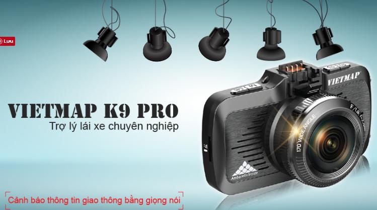 Hình ảnh camera hành trình vietmap K9 Pro ghi hình 2K.