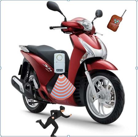 Lắp định vị xe máy góp phần đẩy lùi trộm cắp