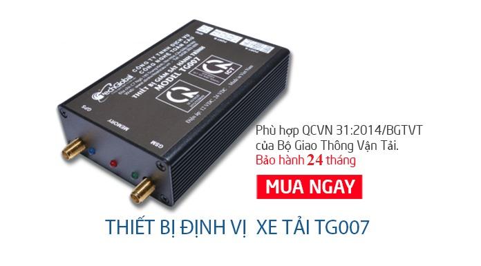 TG007 sản phẩm phù hợp nhất khi lắp thiết bị định vị GPS, thiết bị giám sát hành trình xe tải tại Thanh Hóa.