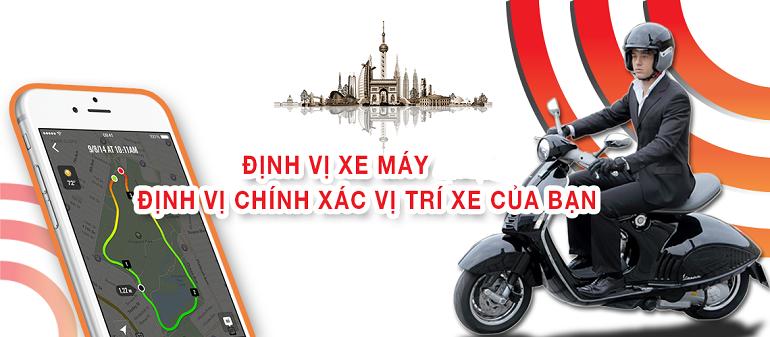 Lắp định vị xe máy tại Hoàng Mai hãy gọi Thành Nam GPS