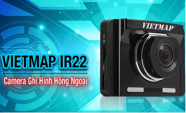 Camera hành trình Vietmap IR22- ghi hình hồng ngoại tn
