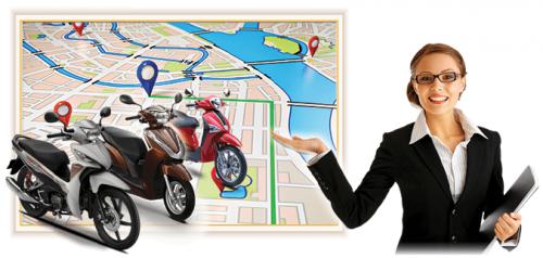 Thiết bị định vị GPS cho xe máy