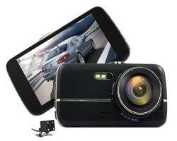 Camera hành trình K2 Touch cảm ứng ghi hình trước sau