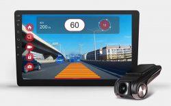Camera hành trình tích hợp DVD Android Firstscene X2