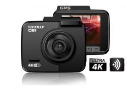 Camera hành trình Vietmap C61 ghi hình 4K sắc nét cả ngày đêm