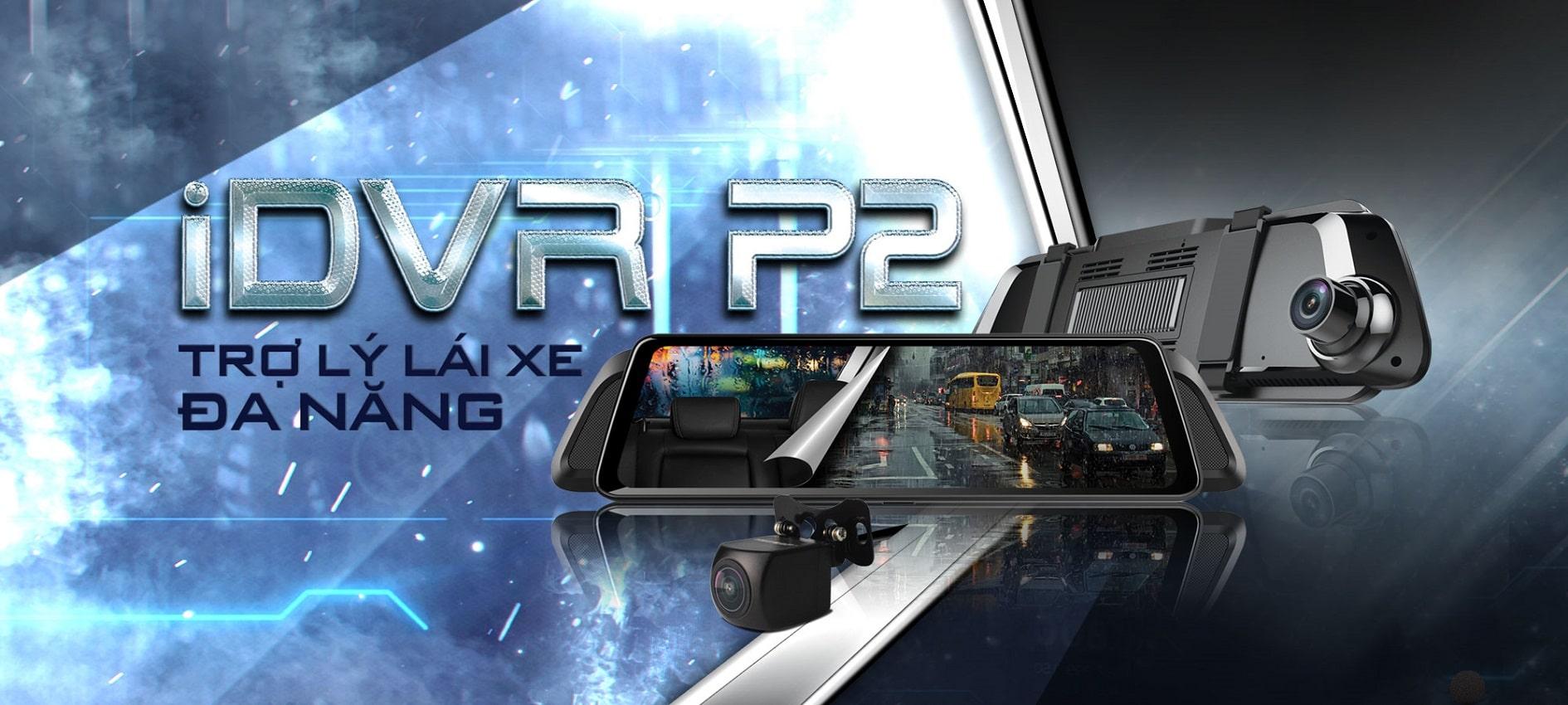 Camera hành trình Vietmap P2 đa chức năng