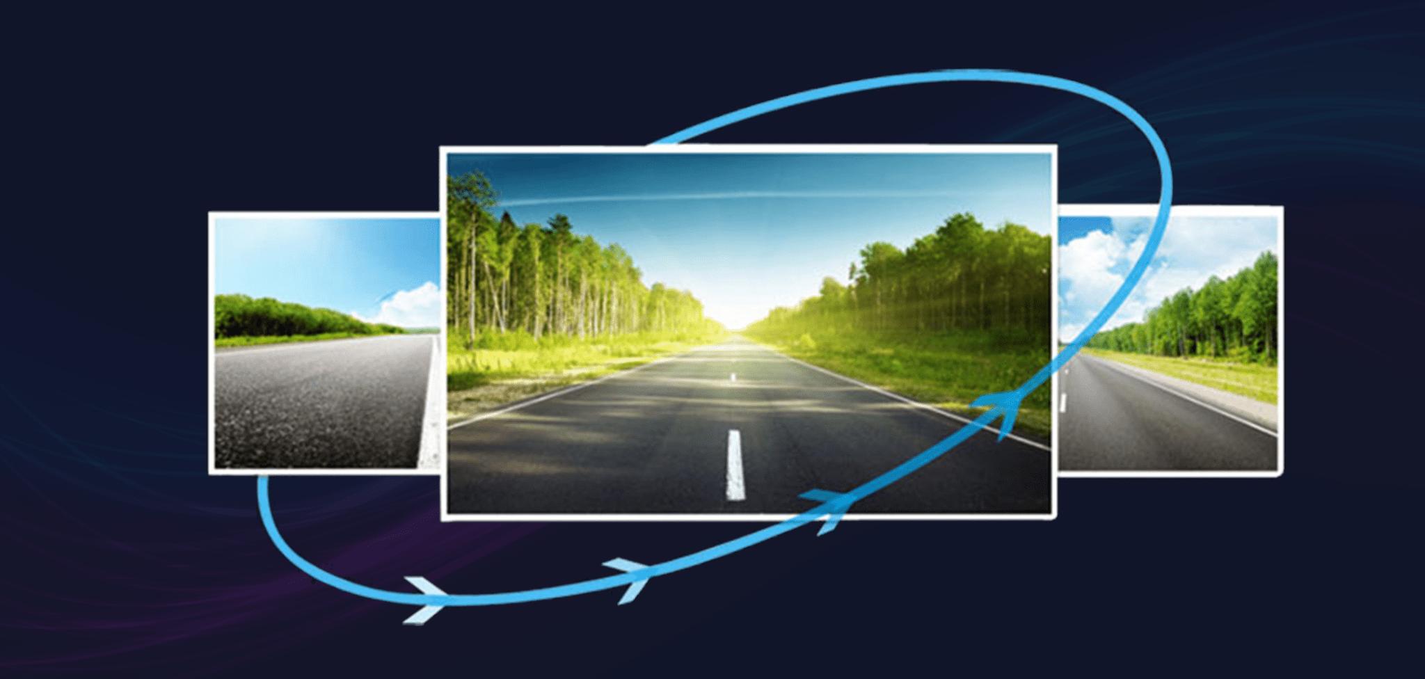 dòng camera hành trình ô tô chụp hình với độ phân giải cực cao cho chất lượng hình ảnh chân thực và vô cùng sắc nét