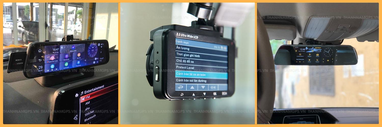 bảng giá camera hành trình vietmap, webvision, hp, carcam...