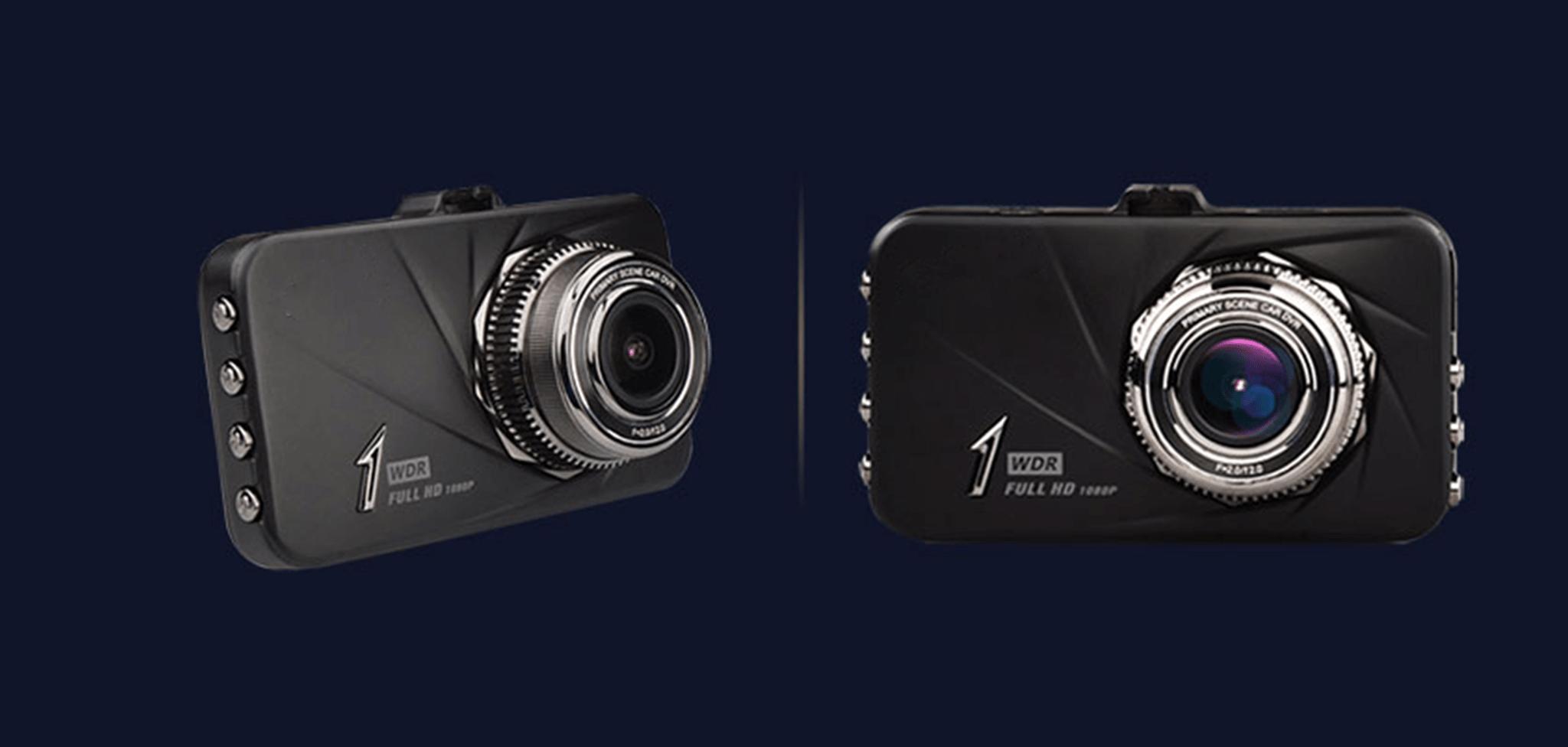 cận cảnh camera hành trình giá rẻ FIRST SCENE D168