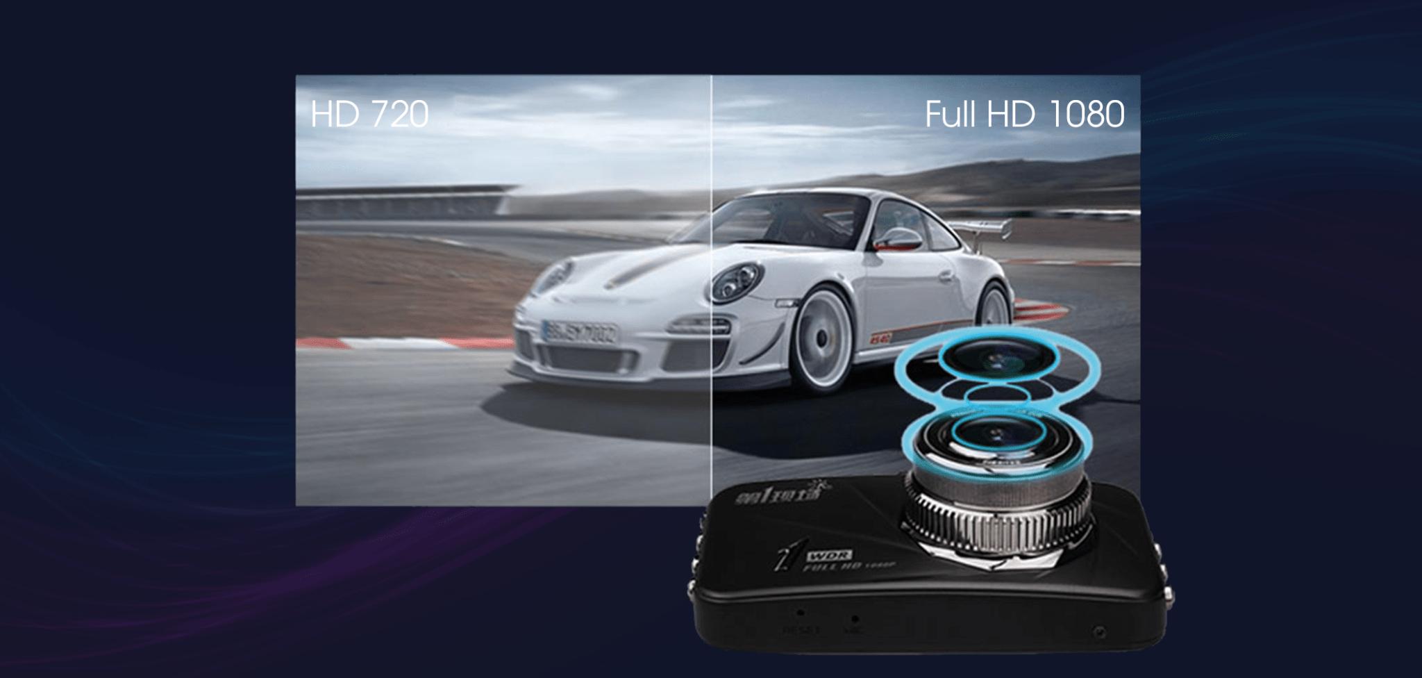 D168 có khả năng ghi hình với độ phân giải FUll HD ở nhiều góc độ khác nhau