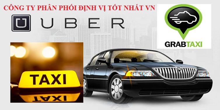 Lắp định vị xe chạy uber, grab tại quận 1