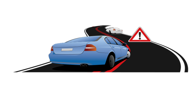 k12 phát ra tín hiệu cảnh báo khi xe đi sai làn đường