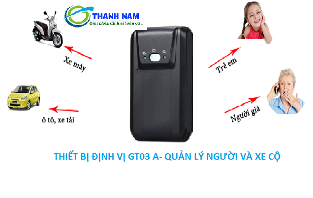 Thiết bị định vị cầm tay GT03A còn có chức năng nghe lén