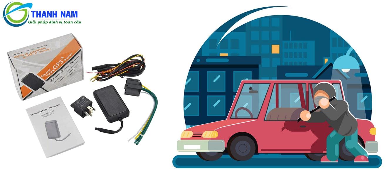 lắp thiết bị định vị cho ô tô - chống trộm bảo vệ xe 24/24