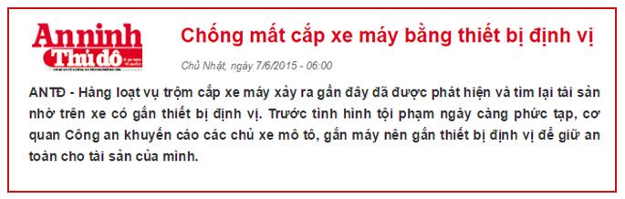 Lắp thiết bị định vị xe máy tại Bắc Ninh càng sớm càng tốt