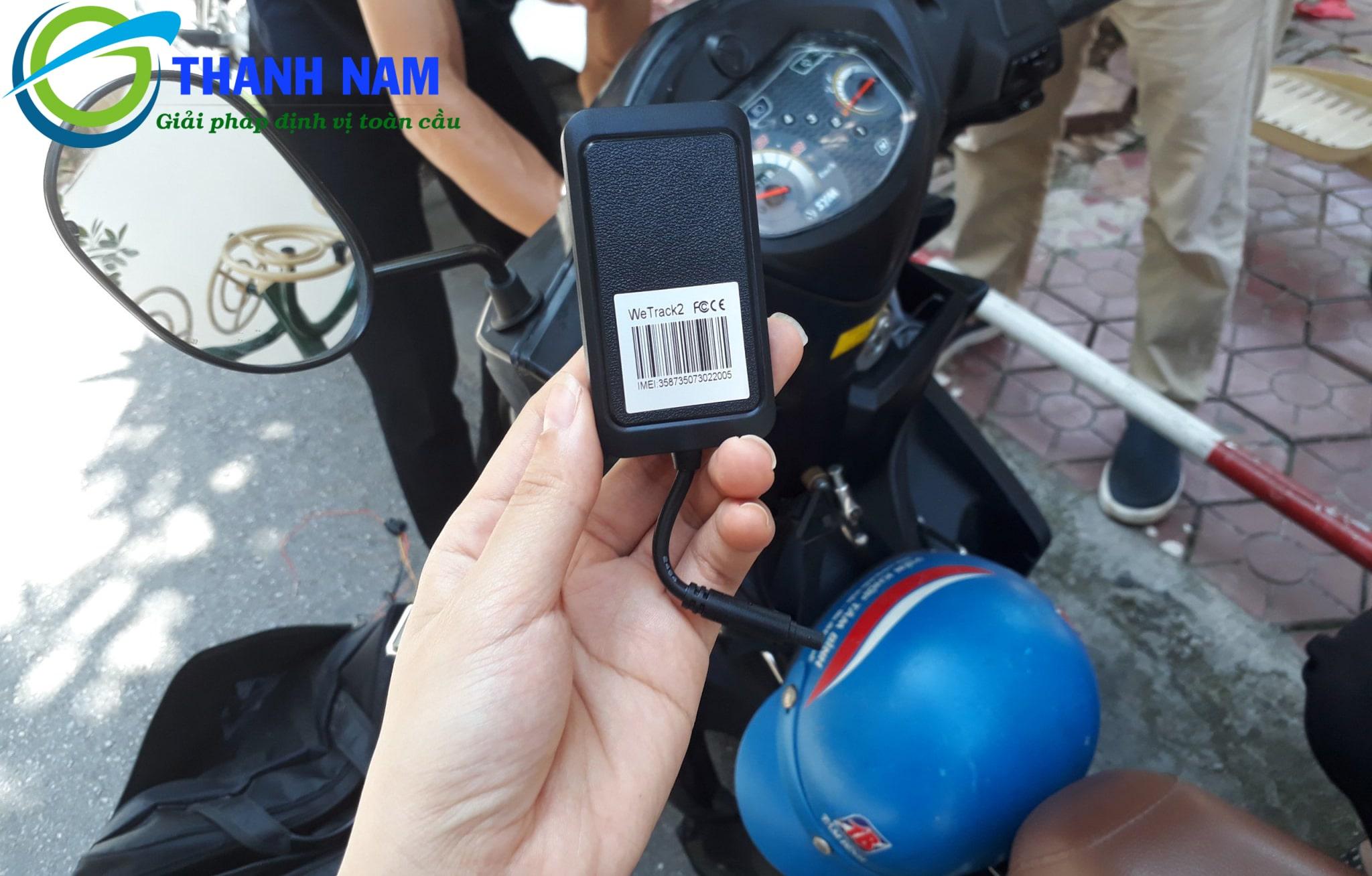 thiết bị định vị chống trộm xe máy cao cấp wetrack 2