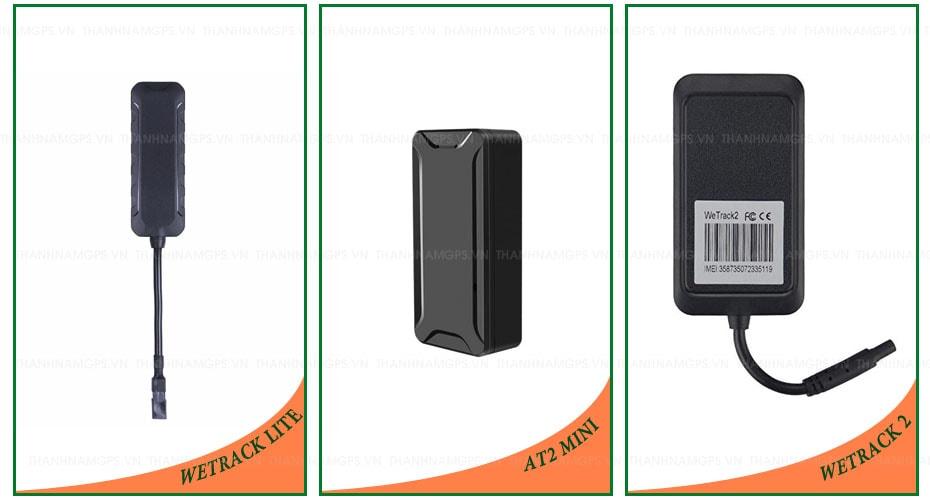 thiết bị định vị xe máy wetrack lite - wetrack 2 và at2 mini