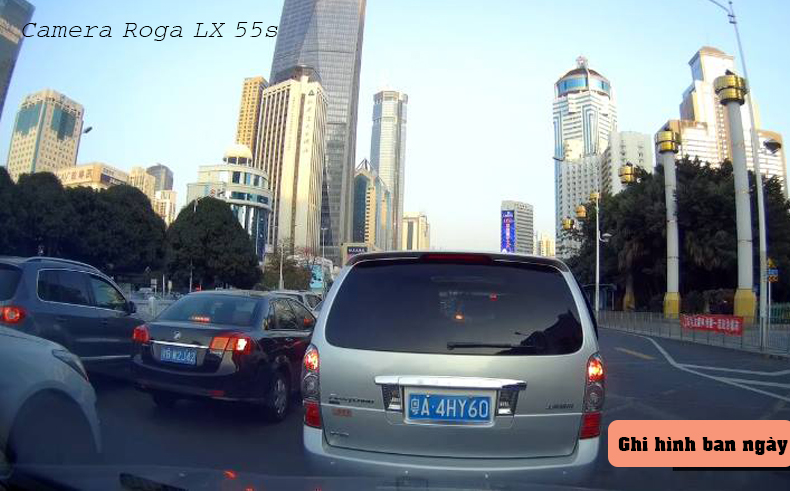 tính năng ghi hình ban ngày của ROGA LX 55S