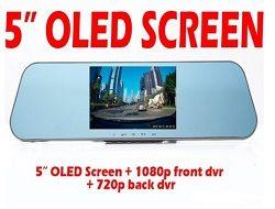 Camera hành trình Gương 2 mắt Roga LX2S Oled Samsung