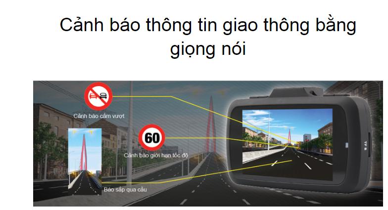 vietmap k9 pro có hệ thống cảnh báo giao thông thông minh