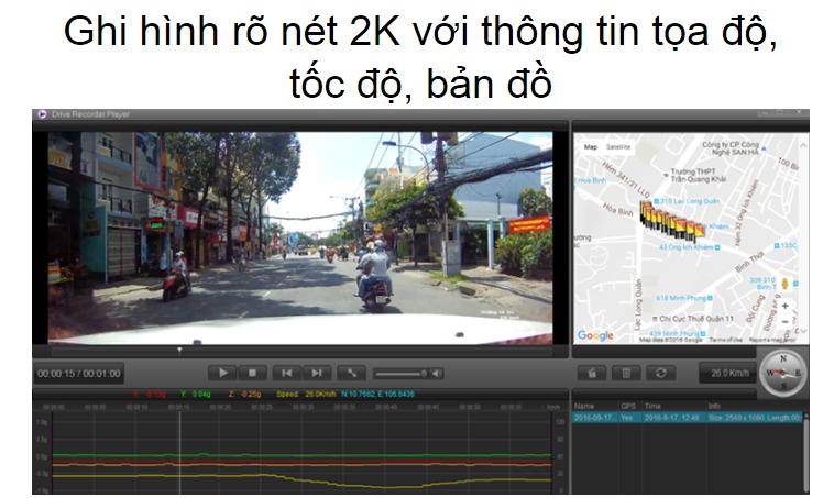 Một sản phẩm dành cho các bạn có nhu cầu lắp camera hành trình tại Bình Tân
