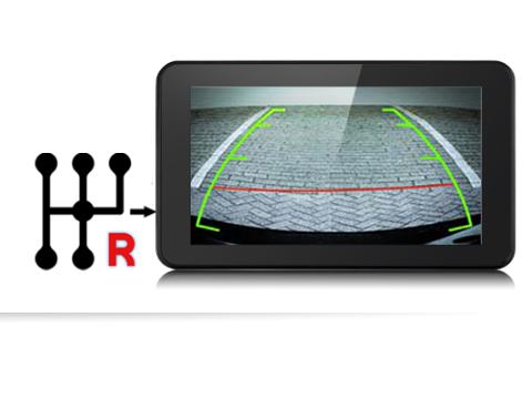 Vietmap B70 còn có khả năng kết nối với camera lùi - hỗ trợ người dùng lái xe an toàn tuyệt đối