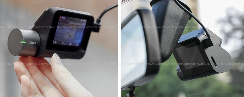 lắp camera hành trình giá rẻ - chính hãng Xiaomi 70mai tại Thành Nam GPS