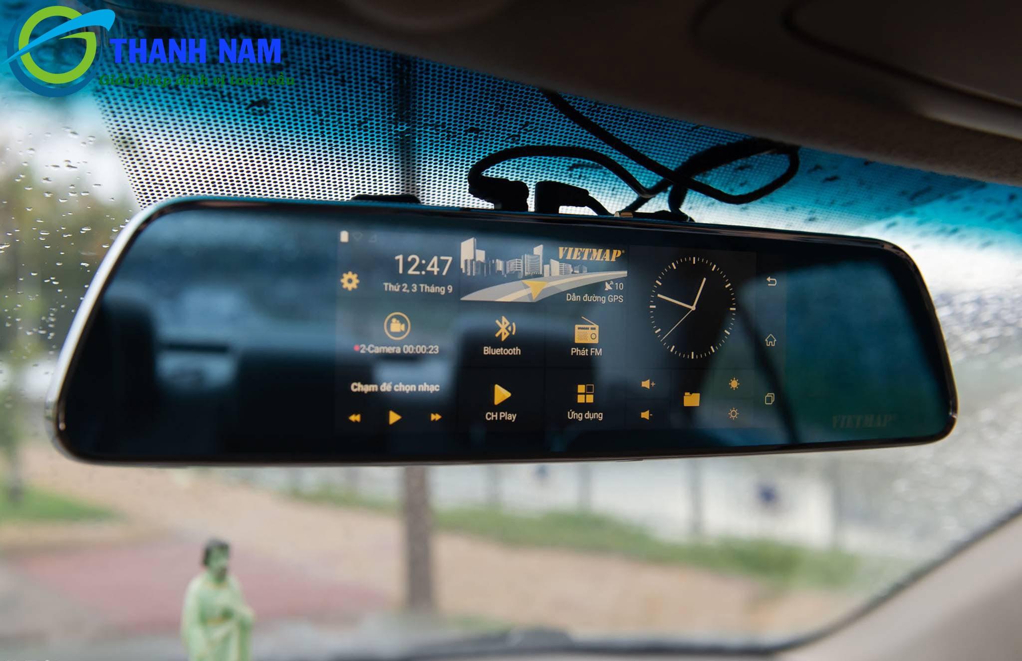 camera hành trình dẫn đường thông minh vietmap p1