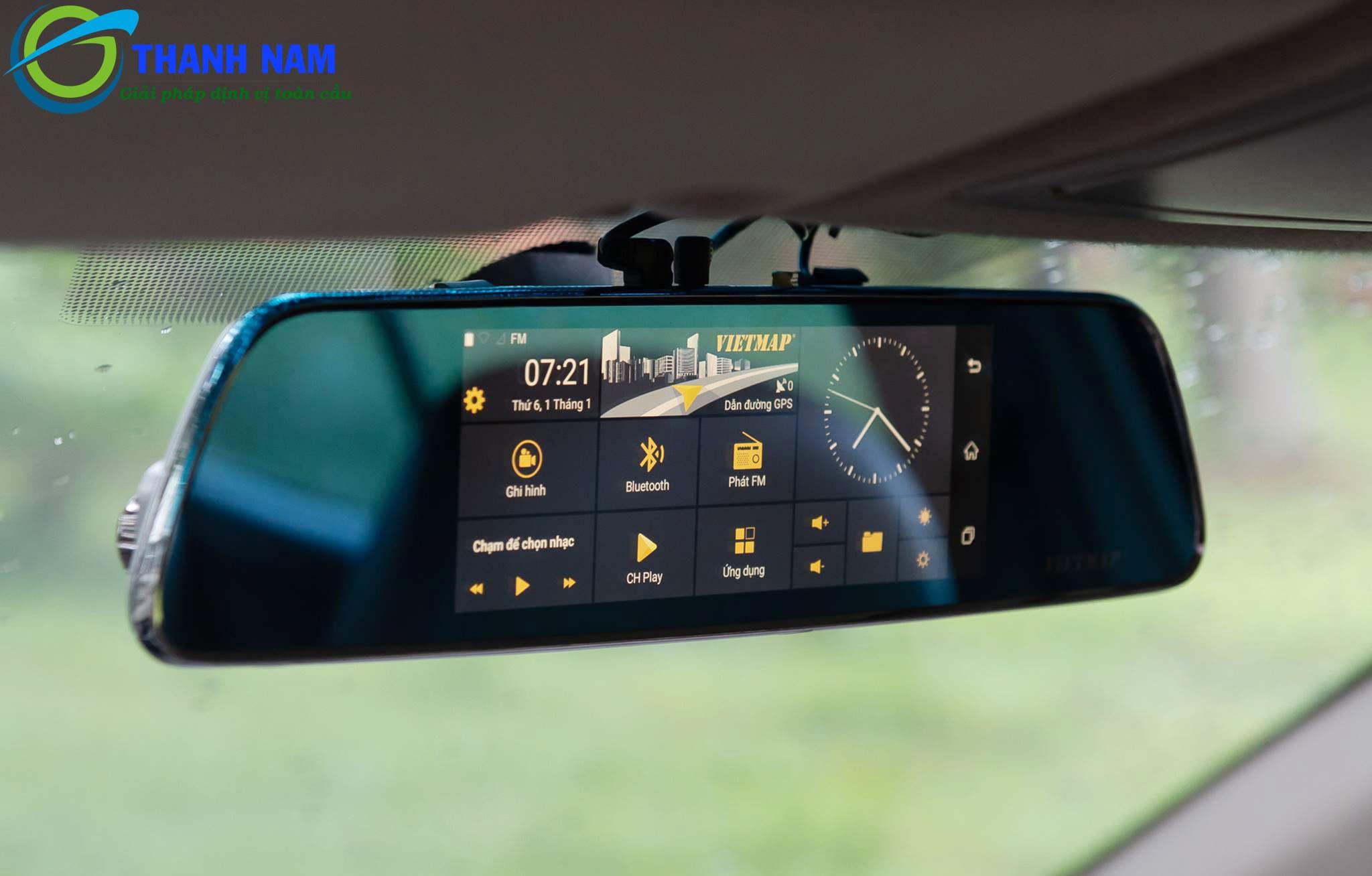 camera hành trình dẫn đường thông minh Vietmap iDVR P1