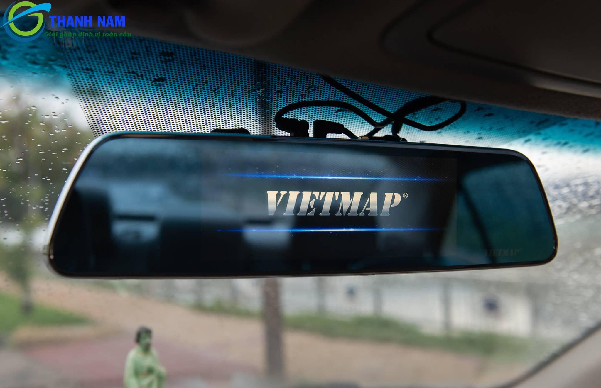 camera hành trình gương - chỉ dẫn đường thông minh Vietmap P1