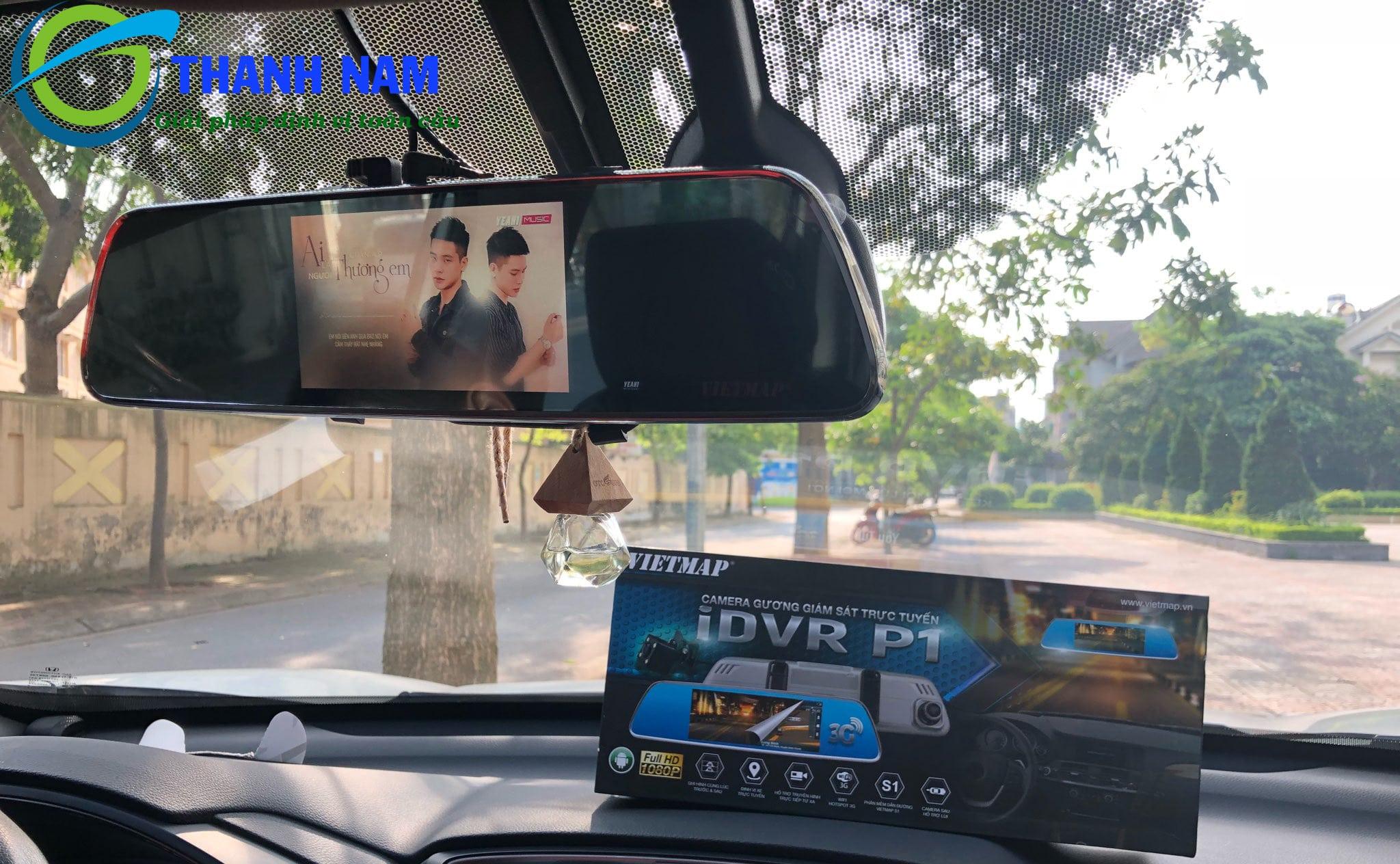 camera hành trình Vietmap P1 - Chỉ đẫn đường thông minh - Kết nối WIFI