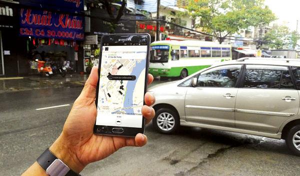 Lắp định vị xe chạy uber tại  Đống Đa, Hà Nội