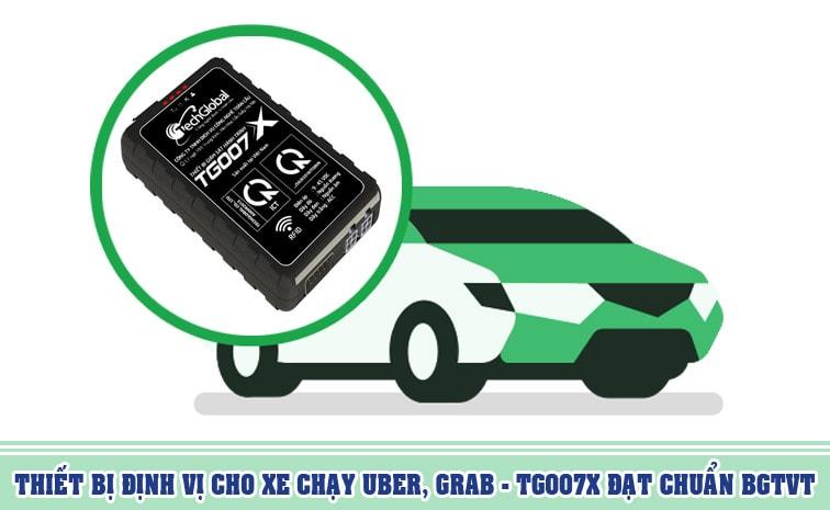 Thiết bị định vị cho xe chạy uber grab tốt nhất - Tg007X