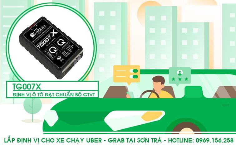 Lắp định vị xe chạy uber grab tại sơn trà - đà nẵng