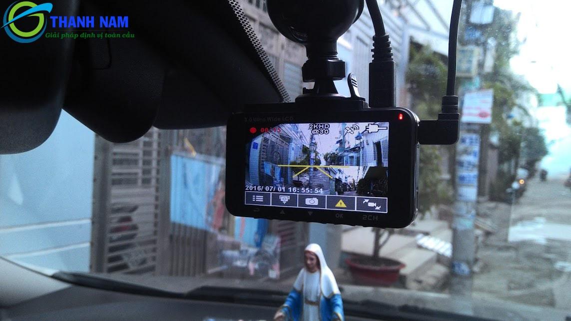 hình ảnh thực tế của camera hành trình ô tô HP F890G