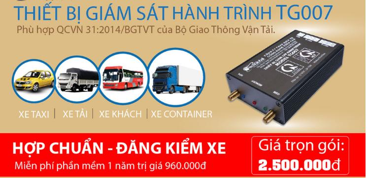 Lắp Thiết bị định vị GPS, thiết bị giám sát hành trình xe tải tại Tuyên Quang hãy chọn TG007