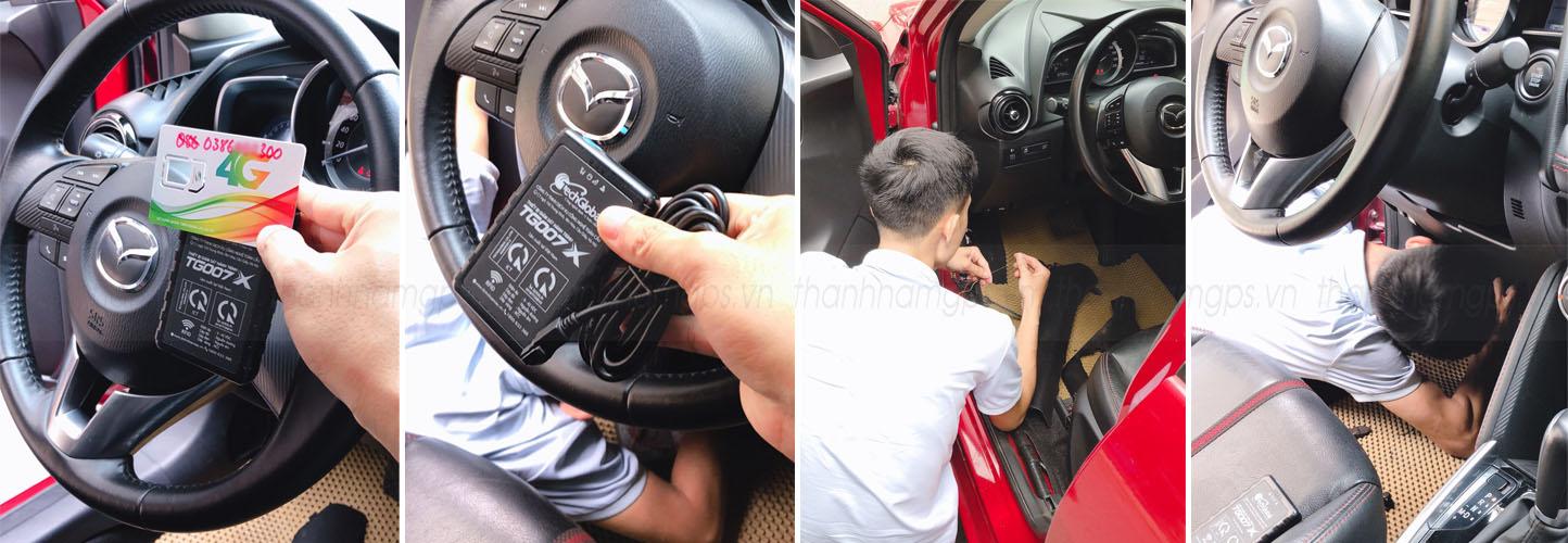 thiết bị giám sát hành trình xe uber grab Tg007X hợp chuẩn BGTVT