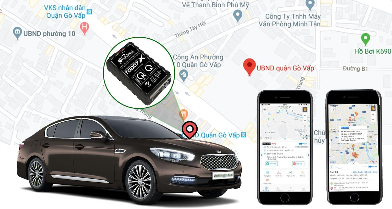 quản lý hành trình xe thông minh khi lắp đặt định vị cho ô tô
