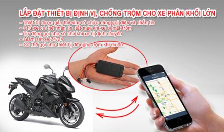 lắp định vị xe máy tại hoài đức - chống trộm xe máy hiệu quả