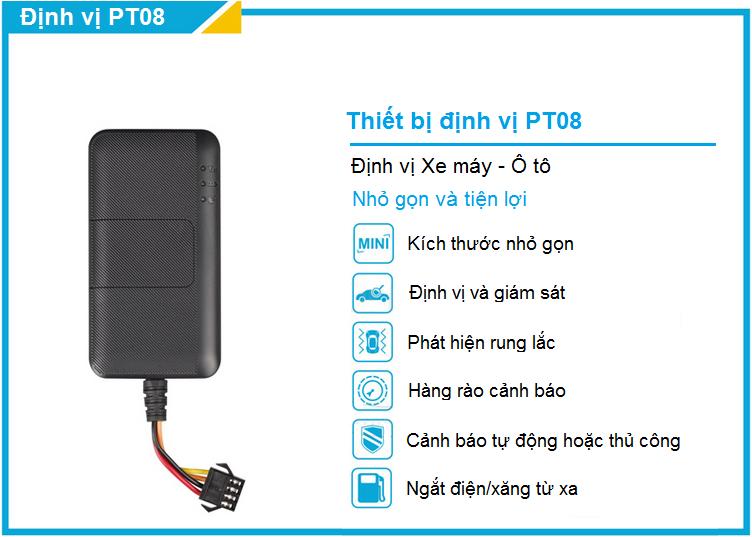 Sản phẩm bạn nên tham khảo khi có nhu cầu lắp định vị GPS dành cho xe máy tại Thanh Trì