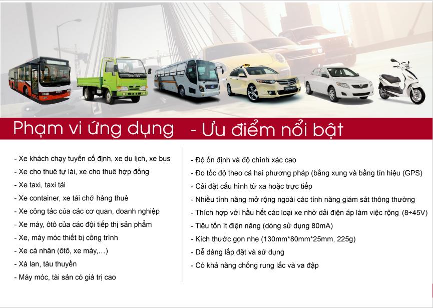 Ứng dụng của thiết bị giám sát hành trình Tg007X - Gọi ngay cho chúng tôi khi bạn có nhu cầu