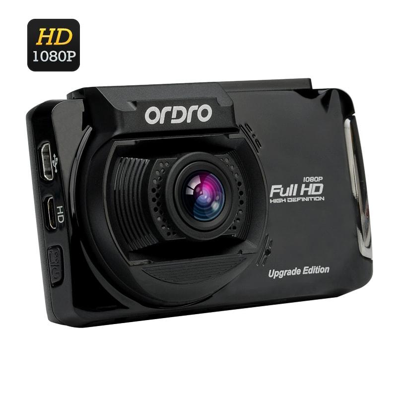 cận cảnh camera hành trình ô tô X5 Ordro ghi hình Full HD